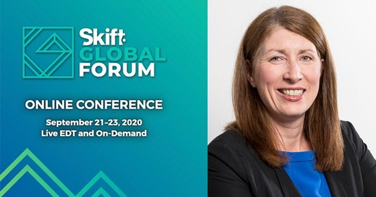 Julie Grieve at Skift Global Forum